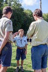 Rentrée scouts d'Europe 2013